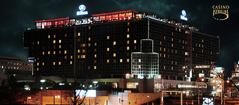 atrium casino @ Hilton